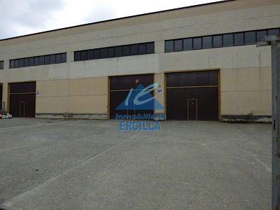 Nave industrial con grúa puente en Txorierri - Zamudio
